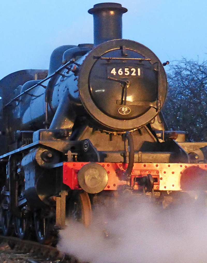 Ivatt Class 2 2-6-0 46521