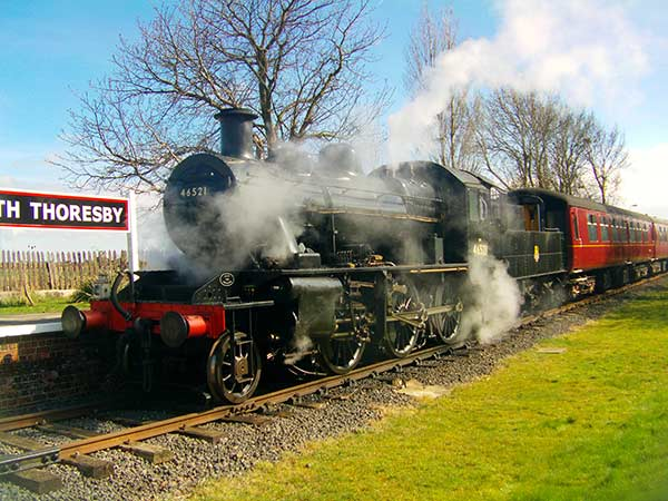 Easter Gala | Ivatt Class 2 2-6-0 No 46521 by Andrew Rash