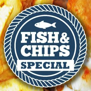 All aboard the Fish & Chip special!