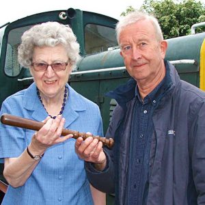 Rare artifact donated to railway museum