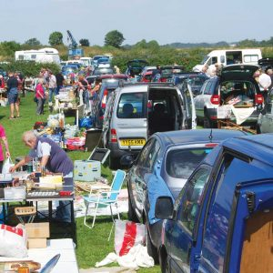 Car Boot Sale at railway