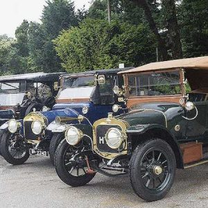 Veteran Car Event at Ludborough