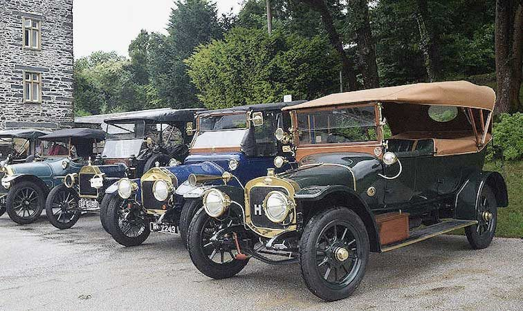 Veteran Car Event at Ludborough