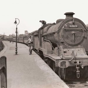 Railway talk in Grimsby