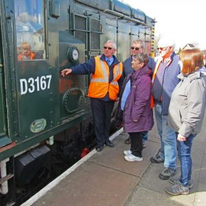 Railway signs up new volunteers