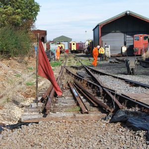 Line extension work gathers pace!