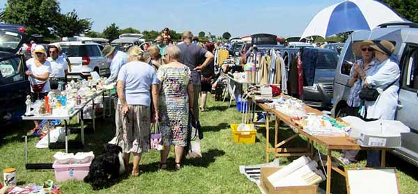 Car Boot Sale at Ludborough station