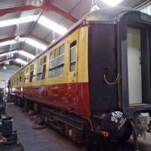 Another coach restoration nears completion